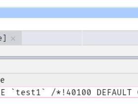 数据库基础操作:DDL 定义数据库